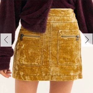 NWT Free People Dust to Dust skirt